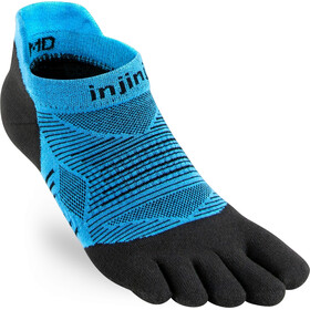 Injinji Run Original Weight No Show Socks, malibu